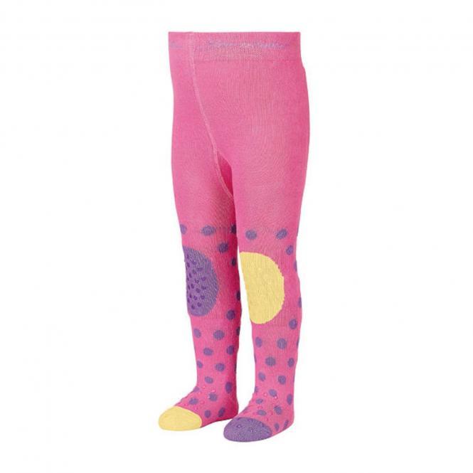 "Baby Mädchen Strumpfhose, Krabbelstrumpfhose mit ABS, rosa ""Giraffe"" - 8651907"