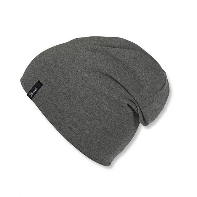 Umschlagmütze Beanie Kurze Mütze Jungen, anthrazit - 4001770-aspha