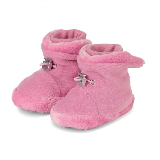 Baby Mädchen Schuhe Stoff, perlrosa - 5101620