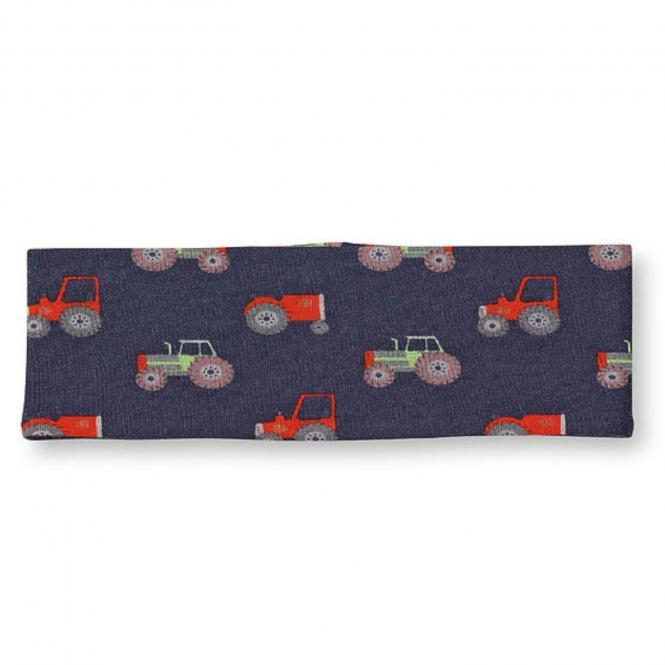 """Jungen Baby Stirnband, dunkelblau """"Traktor"""" - 1801903"""