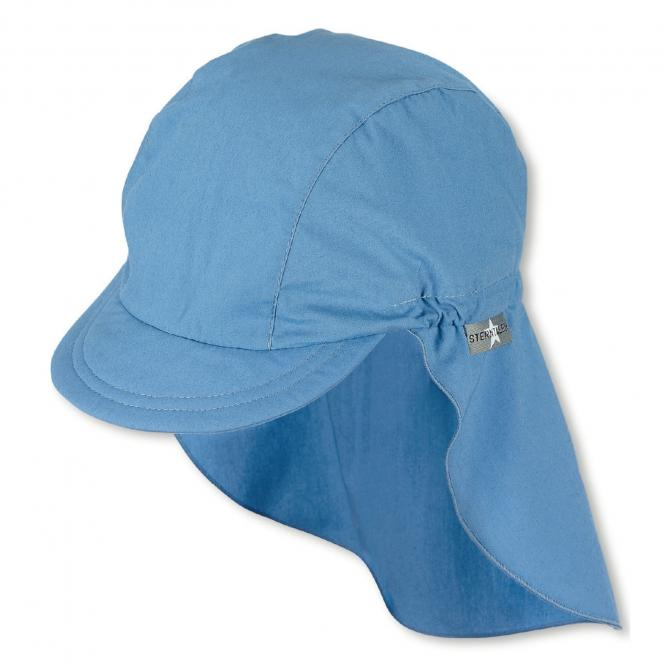 Jungen Schirmmütze mit Nackenschutz, Sommermütze, LSF 50+, blau - 1521930