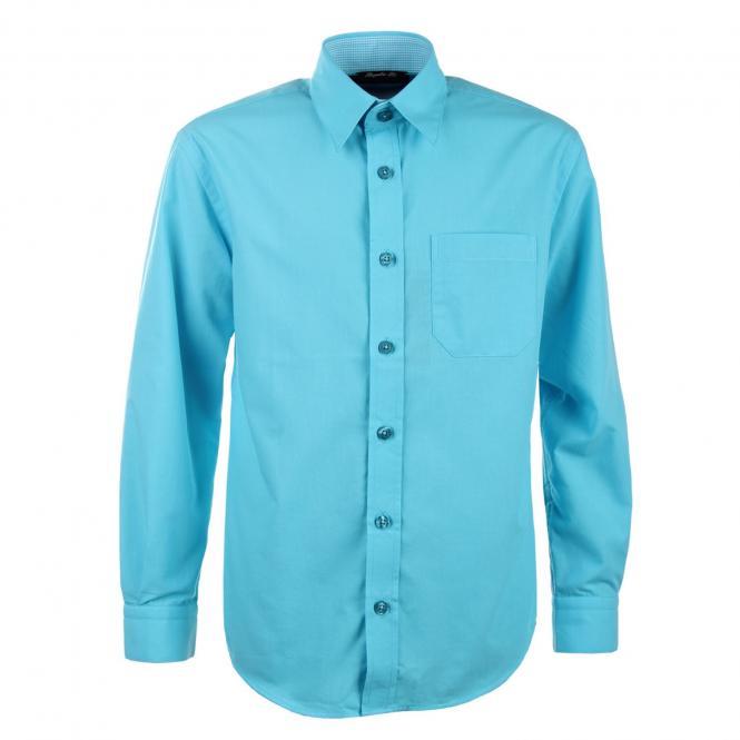 Jungen Festliches Hemd langarm, türkis - 5511900