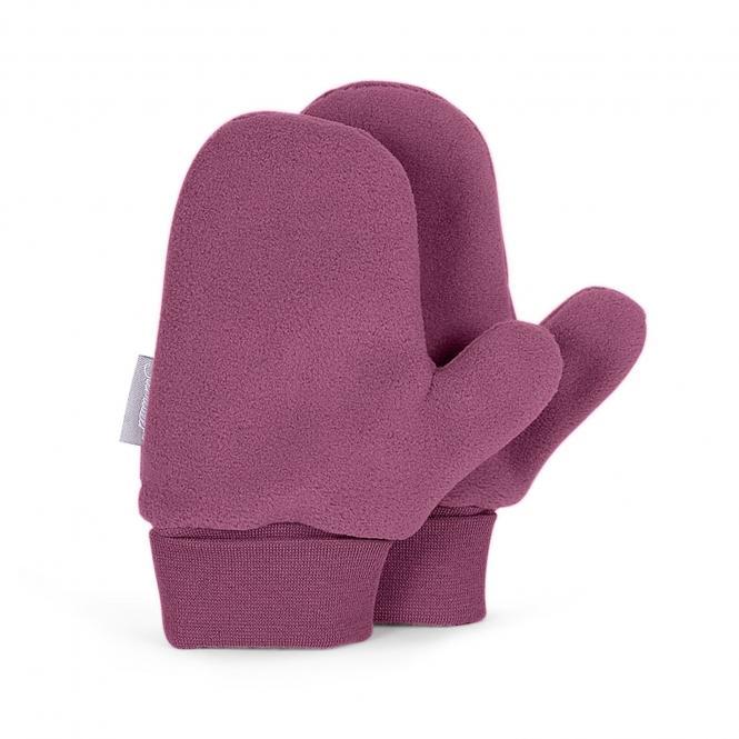 Baby Mädchen Faust Handschuhe, himbeer - 4301620h