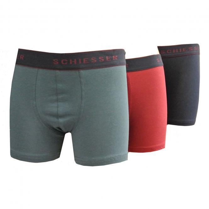 Jungen 3er Set Shorts, mehrfarbig - 6-159036