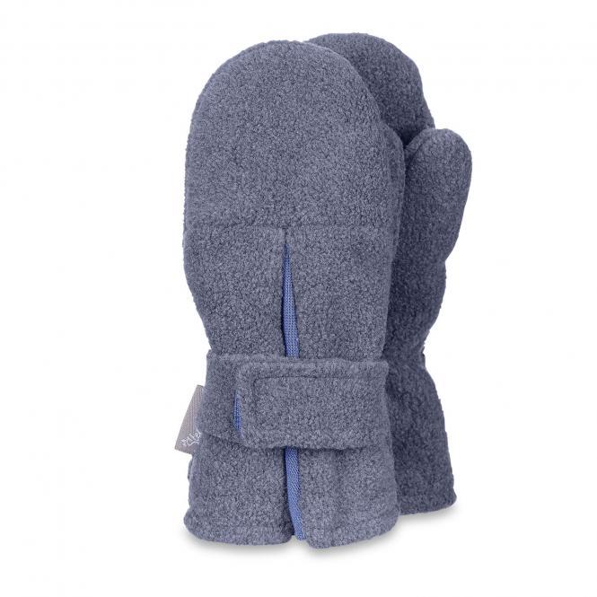 Jungen Fäustlinge Handschuhe Fleece, jeansblau - 4301430