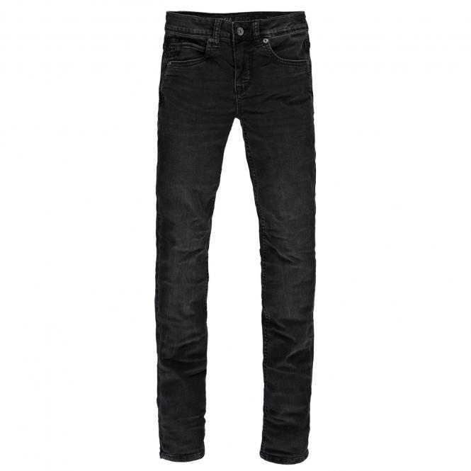 Garcia Jungen Jeans Hose 320 Xandro super slim fit, dunkelgrau - 2720 coal denim dark used