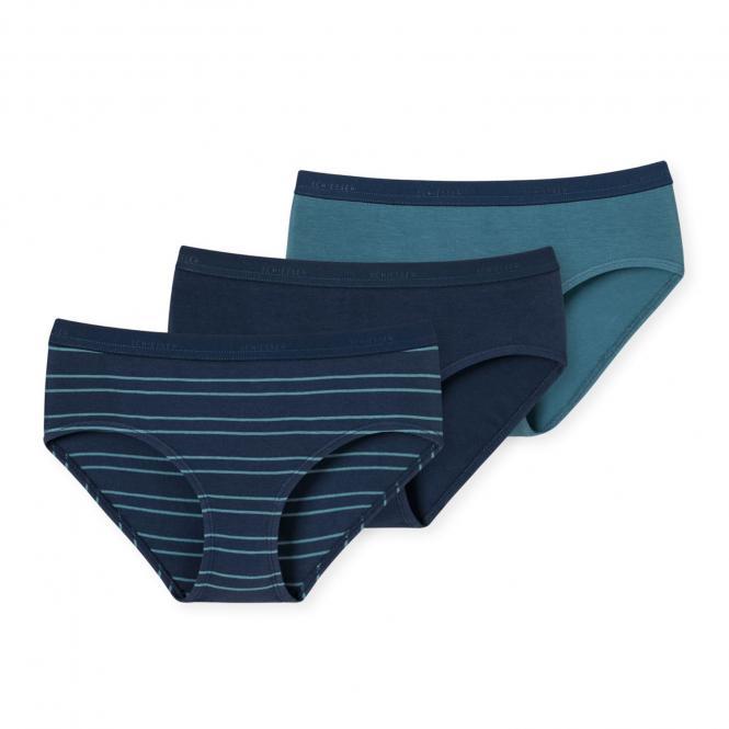 Schiesser Mädchen Panties 3pack marine - 163876