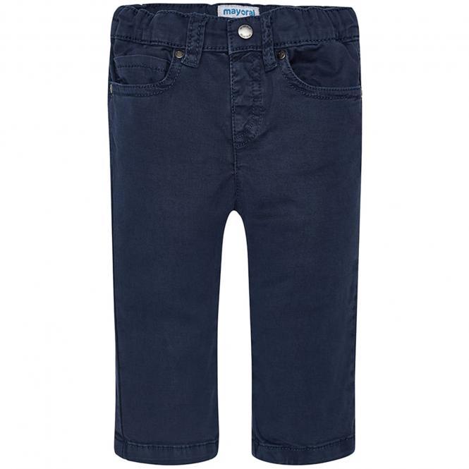 Baby Jungen Stoffhose festliche Hose Regular-Fit, dunkelblau