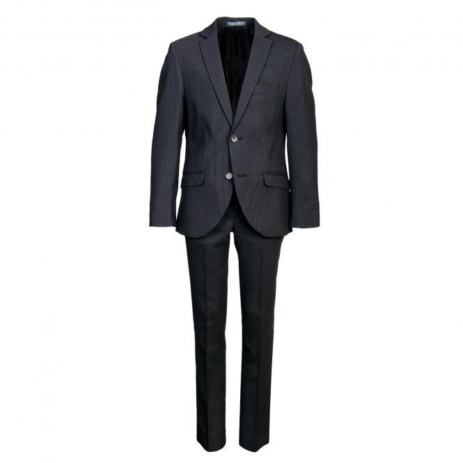 Festlicher Blazeranzug Jungen (ohne Hemd und Krawatte), schwarz - 4535700