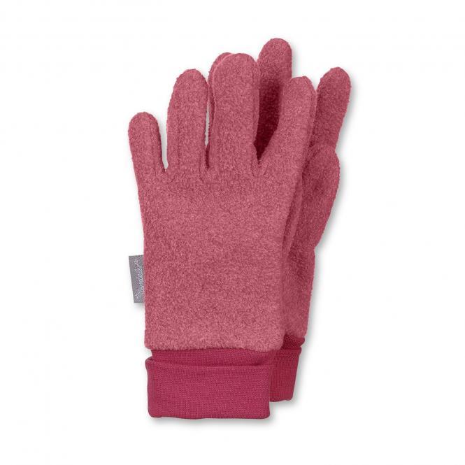 Mädchen Handschuhe Fingerhandschuh Fleece, rot - 4331410-beere