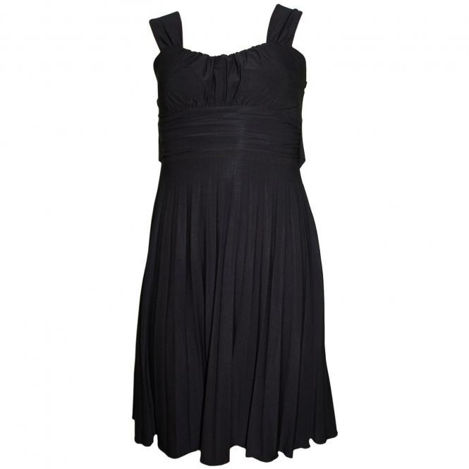 Festliches Kleid Mädchen, schwarz