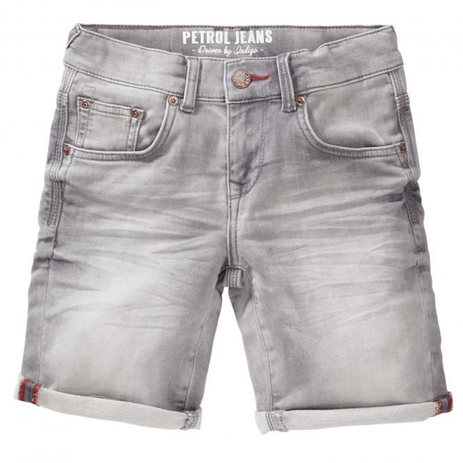 Jungen kurze Hose shorts Bermuda Jeans, grau - B-SS19-SHO550g