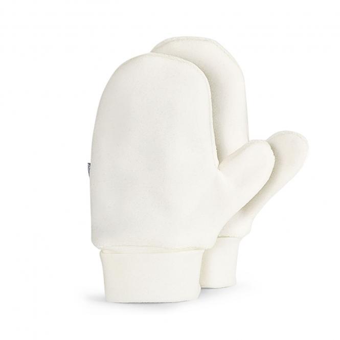 Baby Mädchen Faust Handschuhe, natur - 4301620n