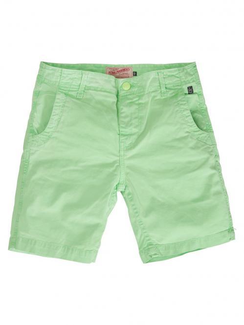 Petrol Industries Jungen Chino-Shorts mit Taschen, grün - B-SS19-SHO505