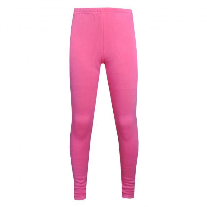 Mädchen Legging Fleece, pink - 853006-36