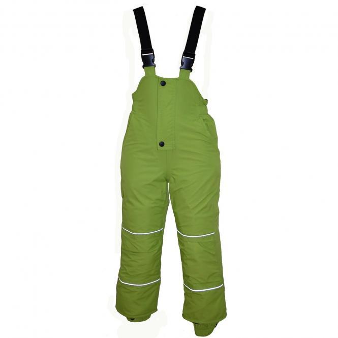 Kids Jungen Skihose Schneehose Wasserdicht 10.000 mm Wassersäule, grün