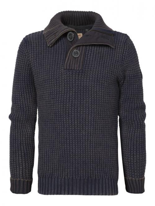 Teens Jungen Strickpullover Pullover, blau - B-FW16-KWC243