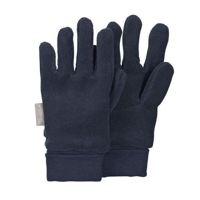 Jungen Handschuhe Fingerhandschuh Fleece, dunkelblau - 4331410-marin