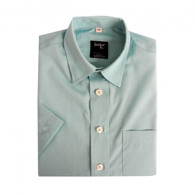 Jungen Festliches Hemd kurzarm (Hemd ohne Krawatte), türkis