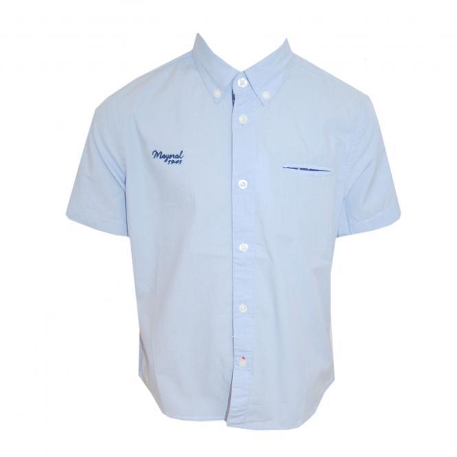 Festhemd festliches Hemd Jungen, hellblau