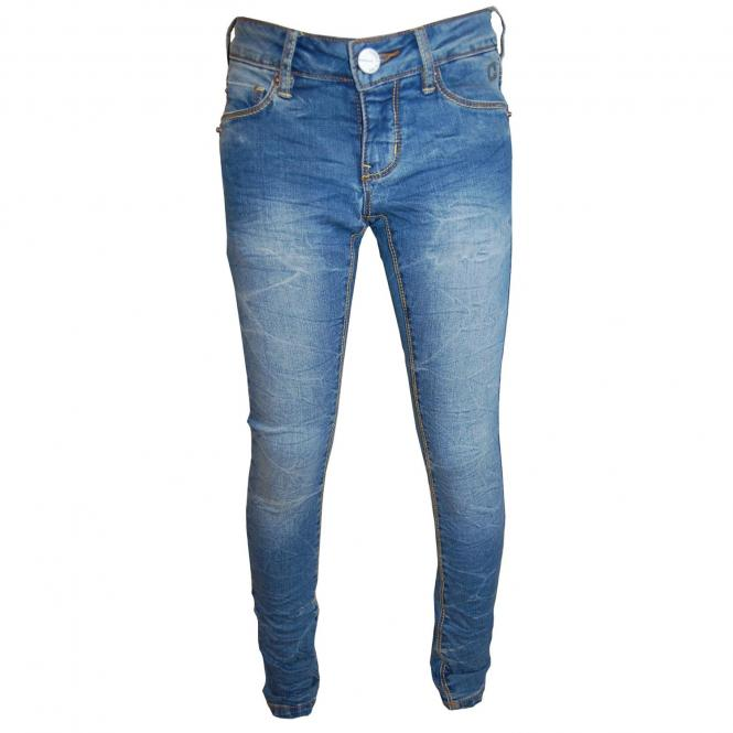 Jeans Mädchen, blau