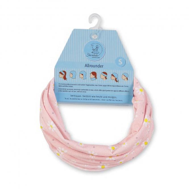 Halstuch Loop Allrounder für Mädchen Gänseblümchen, rosa - 1521859