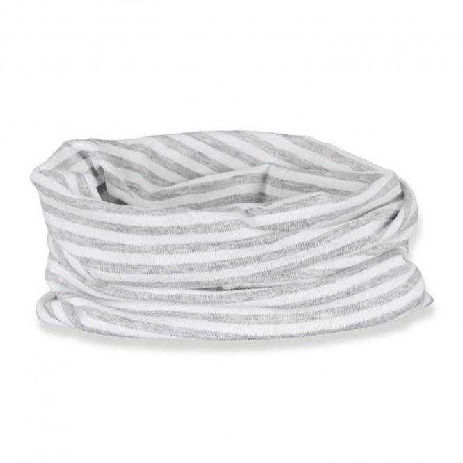 Jungen Mädchen Baby Loop Allrounder, UV-Schutz 50+, weiß grau  - 1521851