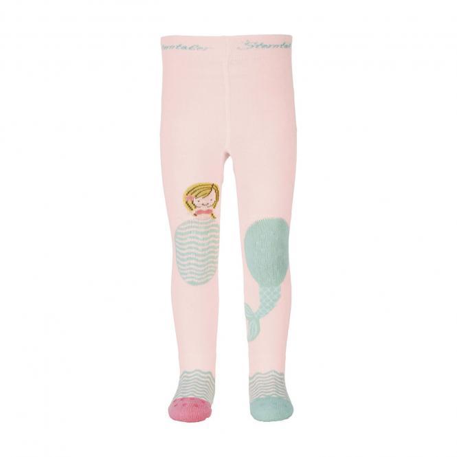 """Mädchen Baby Krabbelstrumpfhose mit ABS und Po-Motiv """"Meerjungfrau"""", rosa - 8652105"""