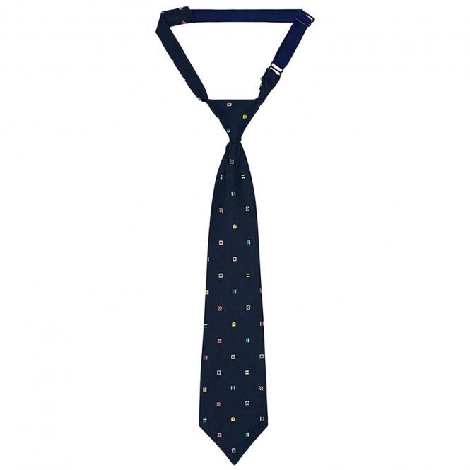Mayoral Jungen Krawatte mit Fahnenmuster für festliche Anlässe, dunkelblau - 10.608