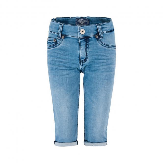BlueEffect Mädchen Capri Jeans Shorts Sommer, jeans - 1171-3822