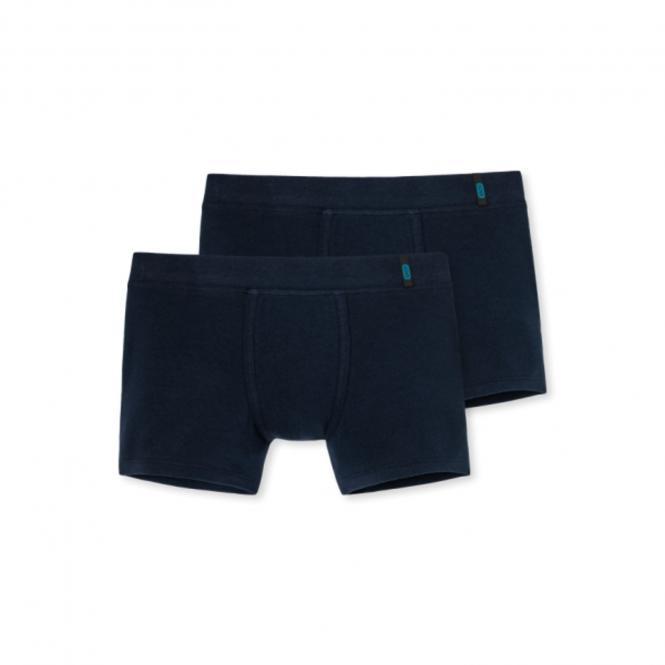 Jungen Unterhosen Shorty 2-er Set, 804 nachtblau - 159455