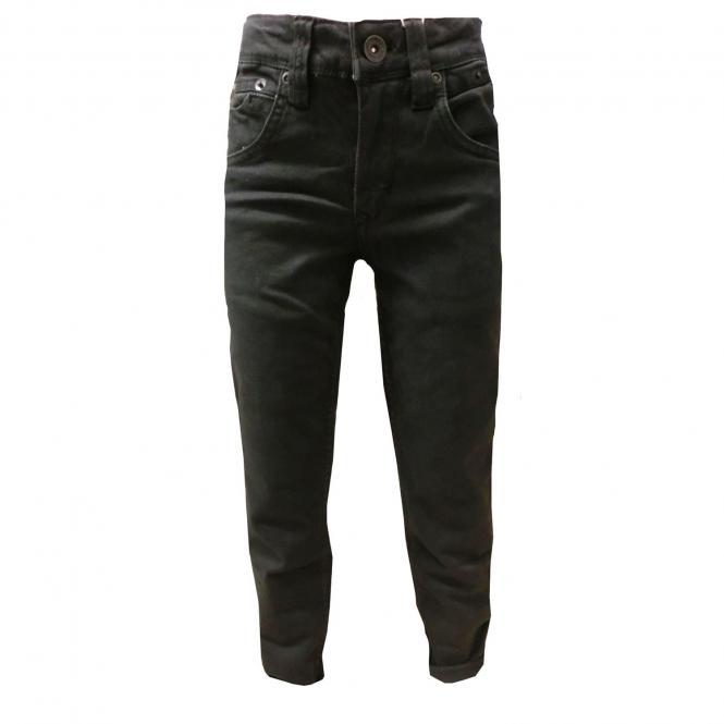 Jungen Jeans Hose 335 Tavio Slim Fit Jeans, schwarz - 1182