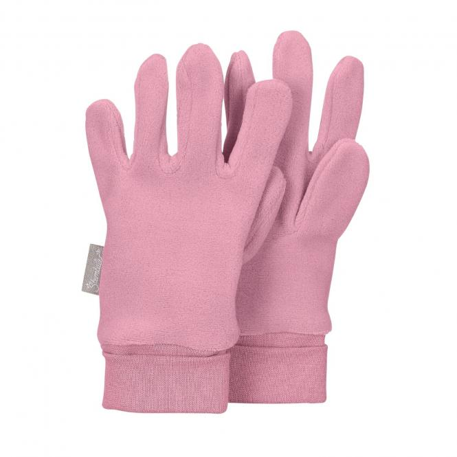 Mädchen Handschuhe Fingerhandschuh Fleece, perlrosa - 4331410