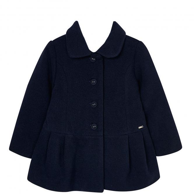 Mädchen Mantel lang, dunkelblau - 4.496db