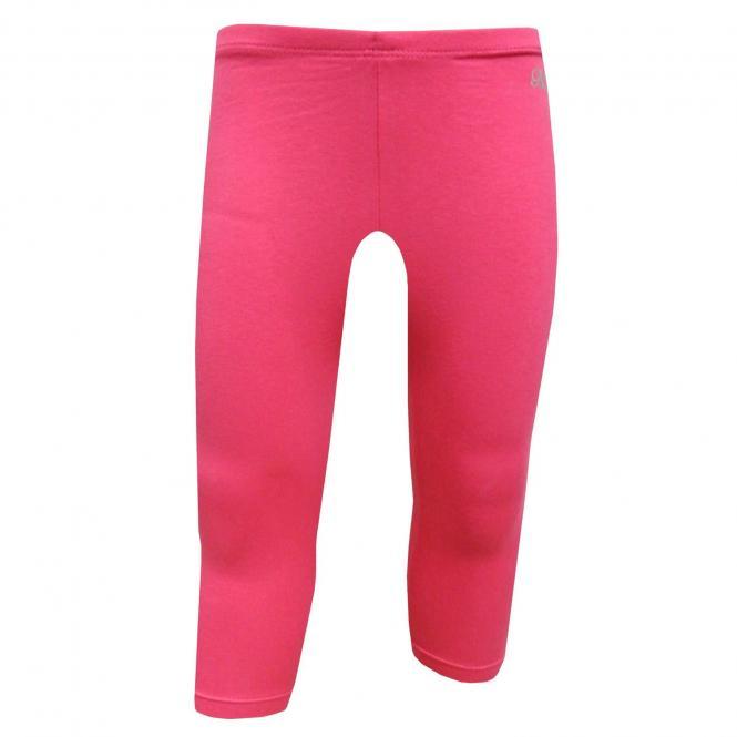 Baby Mädchen Capri Legging einfarbig, pink - 707pink