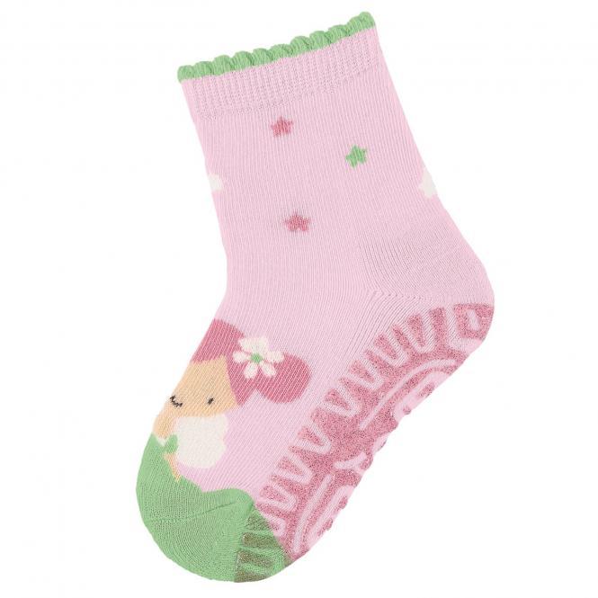 "Mädchen Socken Fliesen Flitzer Air Glitzer ""Fee"", rosa - 8032010"