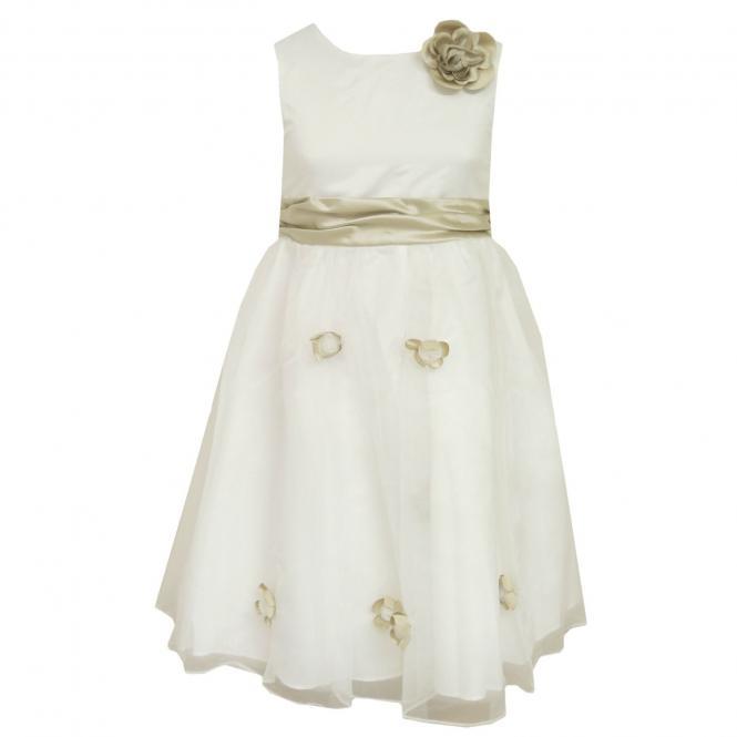 Festkleid Mädchenkleid Kleid, cremefarben