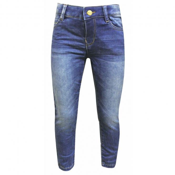 Jeans Jungen Slim Fit Stretch, jeans - 3507
