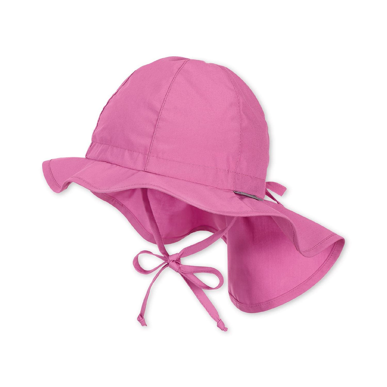 Sterntaler  Mädchen Flapper  Hut Sonnenhut mit Nackenschutz Ecru 1412011