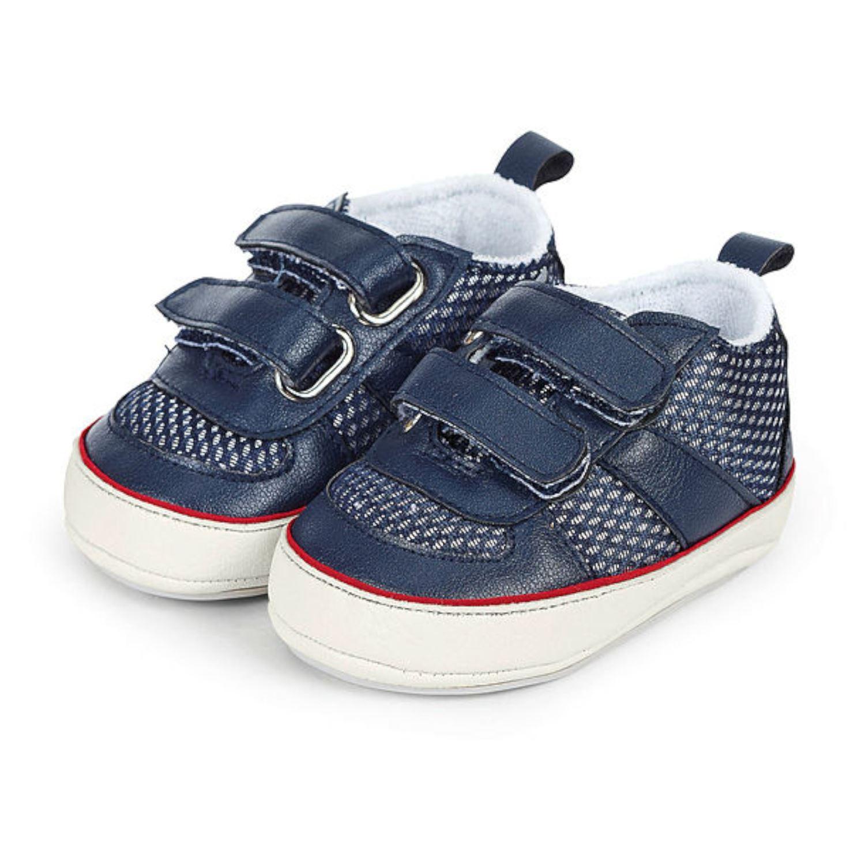 separation shoes 48a92 2d191 Sterntaler Baby Jungen Schuhe Krabbelschuhe Klettverschluss ...