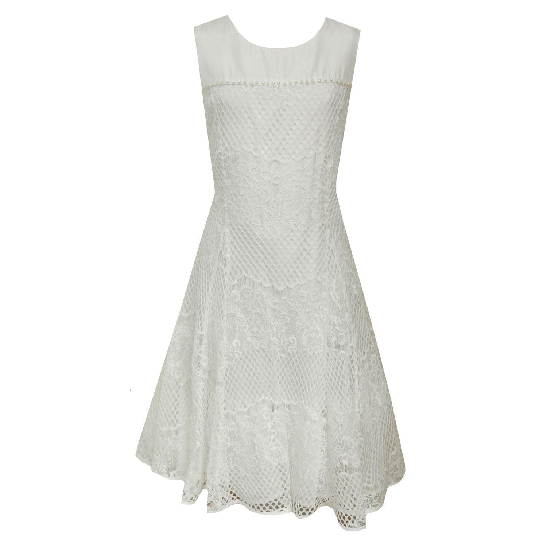 Eisend Festliches Kleid Mädchen Sommerkleid gemustert mit ...